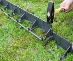 obrubníky se spojí pomocí zámků, které jsou na každé straně