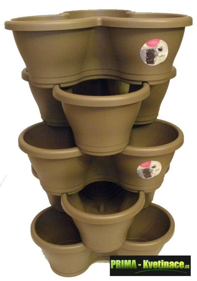 ELHO unikátní systém vertikálních květináčů, bylinková zahrádka – to je vaše zdravá výživa, květináče na bylinky, pokojové rostliny, vhodné na pěstování jahod
