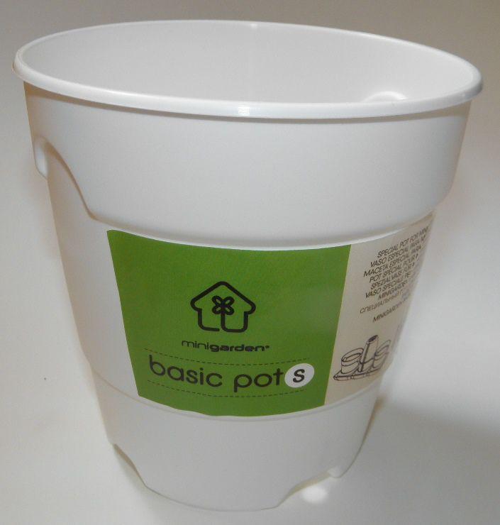 Prima-květináče Plastový květináč určený pro pěstební systém Minigarden® Basic samozavlažovací plastové venkovní závěsné