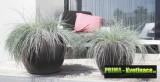 Prima-květináče Květináče ELHO Pure Soft Round – moderní, venkovní, velké, vysoké, kulaté květináče, vonkajšie, veľké, kvetináče, květináče pro obce, hotely, restaurace a firmy samozavlažovací plastové venkovní závěsné