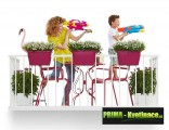 Prima-květináče kvalitní květináče a truhlíky na zábradlí a balkóny ELHO samozavlažovací plastové venkovní závěsné