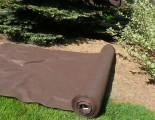 Prima-květináče netkaná textilie na zahrady černá, netkané zahradní mulčovací textilie proti mrazu, netkana stínící tkanina, folie, geotextilie role proti plevelům, pod mulčovací kůru, pod jahody, zakrývací agrotextilie, fólie proti mrazu, netkaná textilie 100m samozavlažovací plastové venkovní závěsné