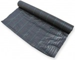 Tkaná mulčovací textilie 3,3 x 100m, 100g/ m2, černá