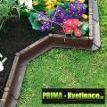 Zahradní obrubník, palisáda 5m tmavě hnědá