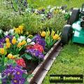 Prima-květináče trávníkové obrubníky, obruby záhonů, zahradní obrubník plastový, záhonové obrubníky, zahradní obruby samozavlažovací plastové venkovní závěsné