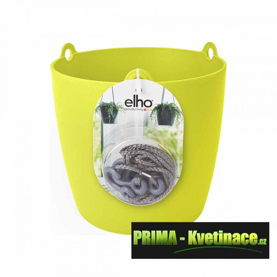 ELHO : interiérové závěsné květináče, obaly na květníky vyrobené z kvalitního plastu