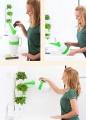 Prima-květináče moderní designová konvička na zalévání Minigarden® určená pro všechny typy květináčů samozavlažovací plastové venkovní závěsné