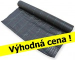 Tkaná mulčovací textilie 1,65 x 50m, 100g/ m2, černá