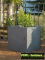 Prima-květináče zahradní plastový květináč – moderní venkovní, velké samozavlažovací květináče, nádoby samozavlažovací plastové venkovní závěsné