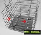 po 5 vrstvách (u rozměru 40cm a 50cm po 7 vrstvách) instalujeme příčné spojky