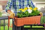 Prima-květináče Fantazie – plastové držáky na truhlíky samozavlažovací plastové venkovní závěsné
