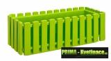 Plastový květinový truhlík 47x18x17cm světle zelená