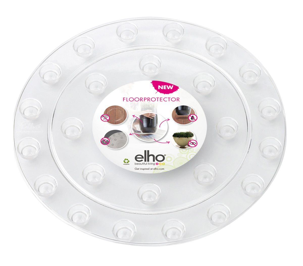 Prima-květináče ochranná podložka pod květináč proti poškrábání ELHO samozavlažovací plastové venkovní závěsné