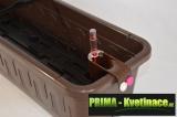 Prima-květináče Plastový, levný, kvalitní, samozavlažovací truhlík Fantazie samozavlažovací plastové venkovní závěsné