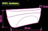 Prima-květináče Samozavlažovací interiérové truhlíky na parapet Doppio – levné, dekorační, malé, designové samozavlažovací truhlíky do interiéru samozavlažovací plastové venkovní závěsné