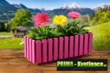 Prima-květináče levný, designový, okrasný obal květinový truhlík samozavlažovací plastové venkovní závěsné