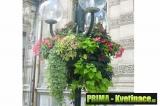 Samozavlažovací květináče na sloupy