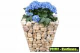 Gabionové květináče