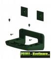Sada nástěnná podpěra Minigarden® zelená + 2 úchyty