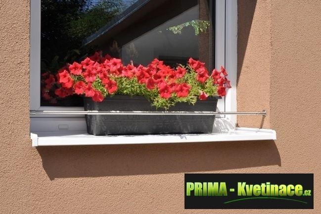 Prima-květináče Zábrana na truhlíky do okna rozpěrná, zábrany truhlíků, okenní zábrany na truhlíky, zábrana truhlíku, kované zábrany na truhlíky samozavlažovací plastové venkovní závěsné
