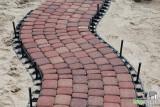 Takový tvar by jste s betonovými obrubníky nezvládli!
