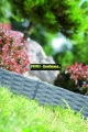 Prima-květináče plastový obrubník, palisádový obrubník Prosperplast samozavlažovací plastové venkovní závěsné