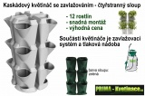Kaskádový čtyřstranný sloup Minigarden – zelený