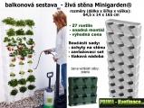 Vertikální zahrada do bytu Minigarden zelená 64,5 x 165 cm