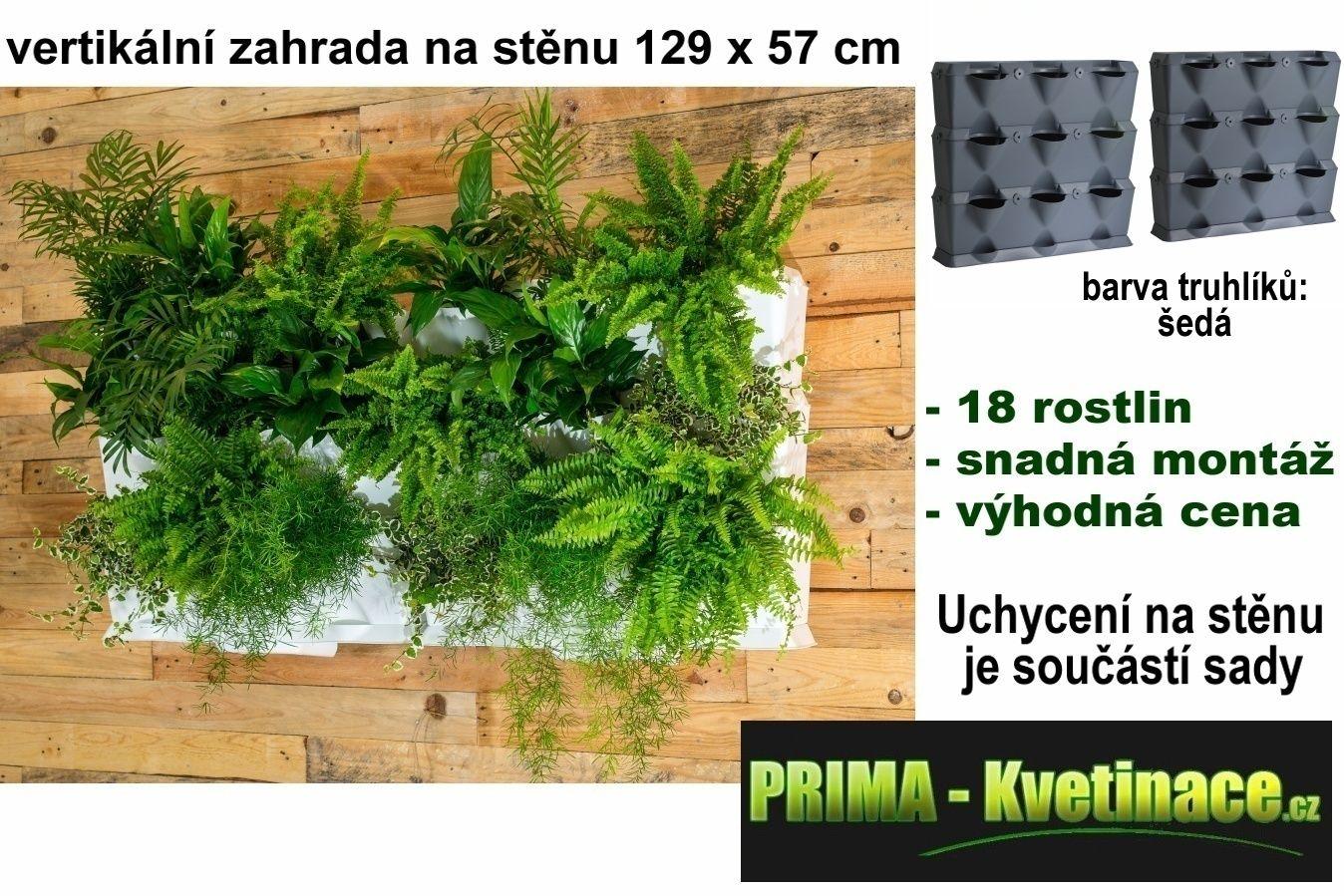 Prima-květináče vertikální květináče, kaskádové venkovní plastové květináče, kaskádový květináč na jahody Minigarden samozavlažovací plastové venkovní závěsné