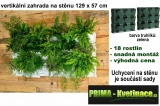 Vertikální zahrada na stěnu Minigarden zelená 129 x 57 cm