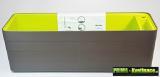 Designový samozavlažovací truhlík 60 cm antracit