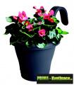 Prima-květináče kvalitní závěsné květináče na zábradlí a balkóny, truhlík na balkonové zábradlí ELHO samozavlažovací plastové venkovní závěsné