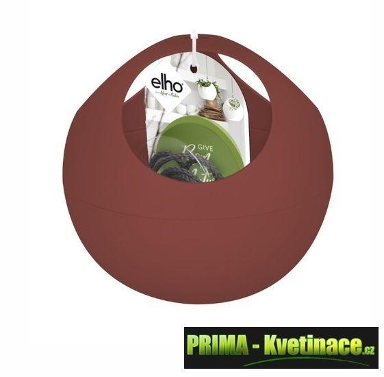 Prima-květináče Plastový obal ELHO – moderní designový závěsný obal na květináče samozavlažovací plastové venkovní závěsné