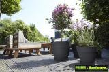 Prima-květináče velký zahradní květináč, velké zahradní květináče, kulaté květináče samozavlažovací plastové venkovní závěsné