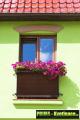 Prima-květináče Balkonové záclony z ratanu v roli, ratanové rohože levně, clony na balkonové zábradlí, ratanová zástěna na balkon, zastínění balkonu samozavlažovací plastové venkovní závěsné