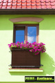 Prima-květináče Balkonové záclony, ratanové rohože, clony na balkonové zábradlí, ratanová zástěna na balkon, zastínění balkonu samozavlažovací plastové venkovní závěsné