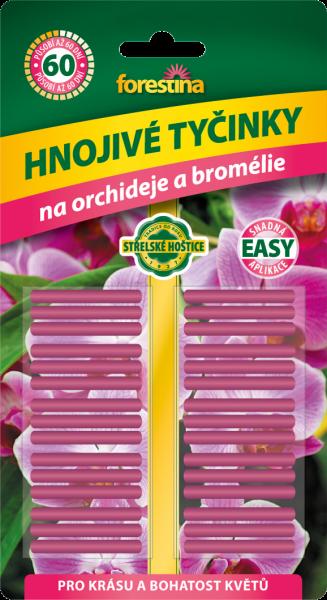 Prima-květináče Účinné tyčinkové hnojivo pro orchideje a bromélie Forestina samozavlažovací plastové venkovní závěsné