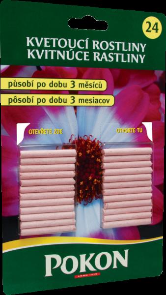 Prima-květináče Účinné tyčinkové hnojivo pro kvetoucí rostliny Pokon samozavlažovací plastové venkovní závěsné