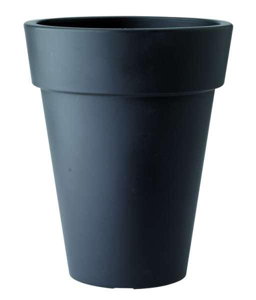 Prima-květináče Květináče ELHO Pure Round High – moderní, venkovní, velké, vysoké, plastové obaly na květináče, květináče, vonkajšie, veľké, kvetináče, črepníky samozavlažovací plastové venkovní závěsné