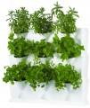 Minigarden vertikální set květináčů – bílá