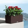 Prima-květináče Samozavlažovací květináče Lechuza Balconera 80 - velké, venkovní, hranaté květináče, samozavlažovacie črepníky samozavlažovací plastové venkovní závěsné