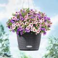 Prima-květináče Samozavlažovací květináče Lechuza Nido – venkovní, závěsné, dekorační květináče, závesné, vonkajšie, samozavlažovacie črepníky, novinka pro jarní sezónu 2012 samozavlažovací plastové venkovní závěsné